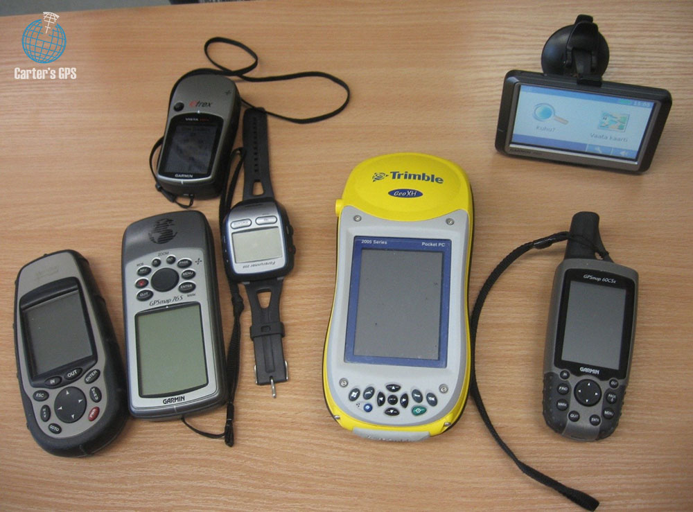 Different types of GPS receivers